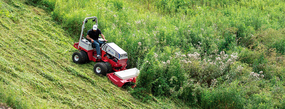 Things You Need To Know About  Mowing A Steep Hill