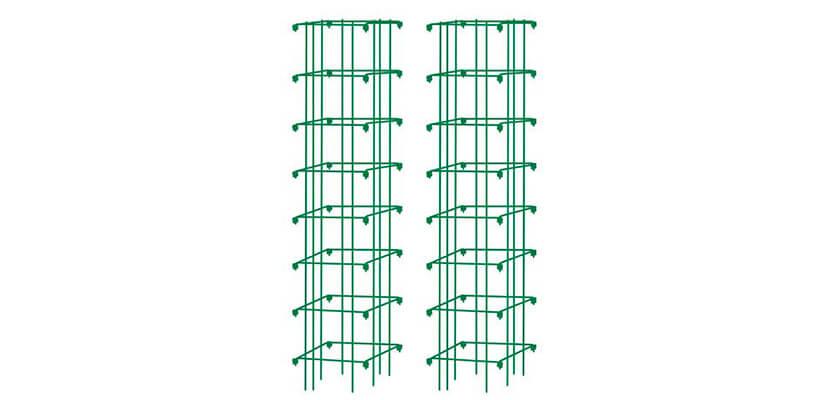 Gardener's Supply Company Square Heavy Gauge Extra Tall Tomato Cage