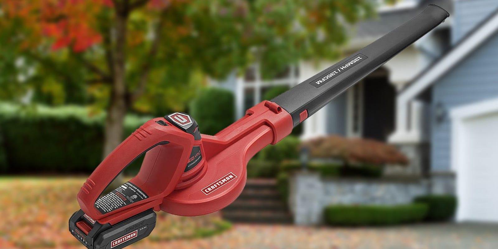 Top 5 Craftsman Leaf Blowers